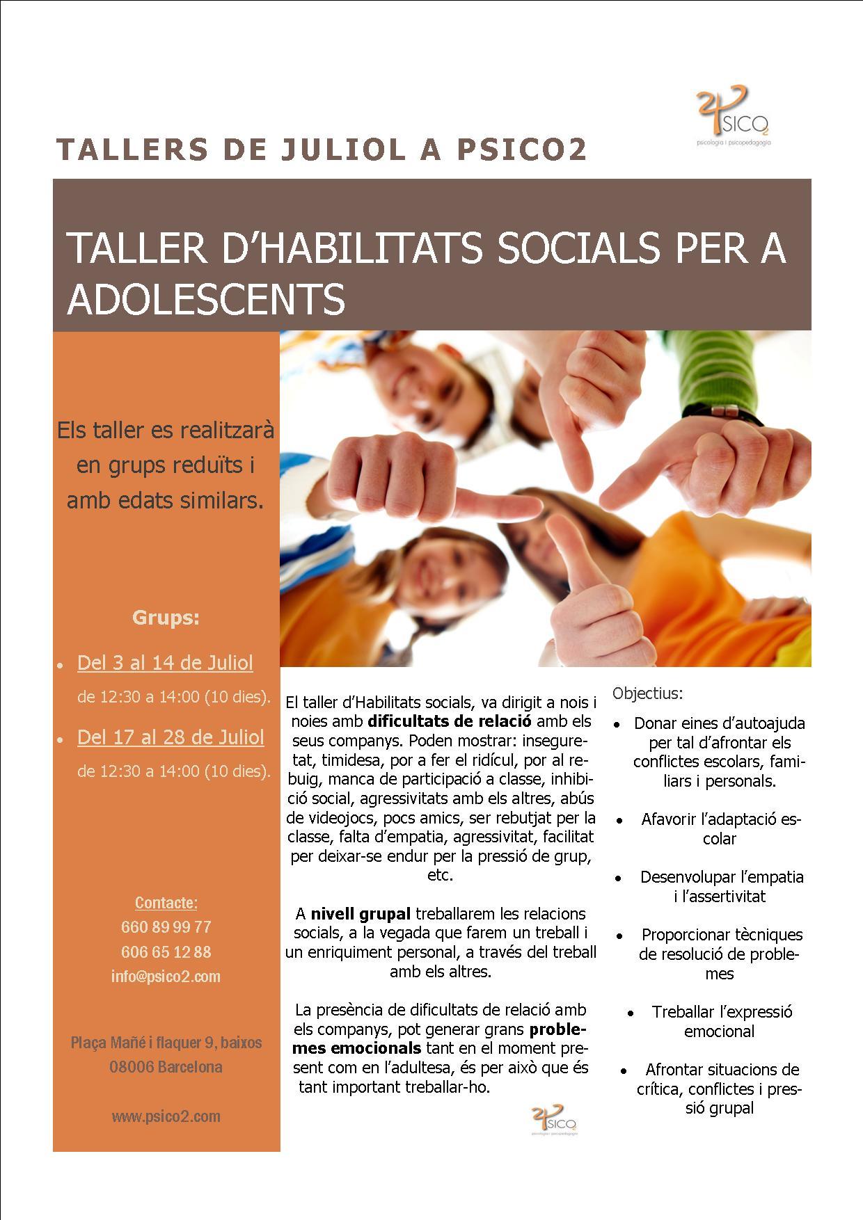 Psico2 - Tallers i xerrades